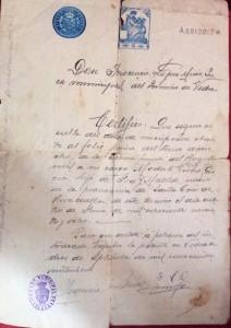 FUENTE PROPIA: Certificado de Buena Conducta para poder viajar a Argentina