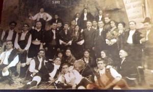FUENTE PROPIA: Gallegos en Buenos Aires en el Centro Gallego durante una actuación