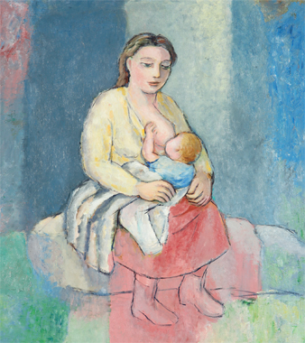"Fuente Imagen: museobelasartescoruna.xunta.es ""Maternidade"""