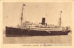 barco infanta isabel de borbon