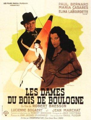 """Cartel película """"Las damas del bosque de Bolonia"""", 1945. Imagen CC."""