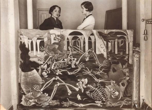 Maruja Mallo en la Residencia de Sñrtas. 1931. Imagen CC